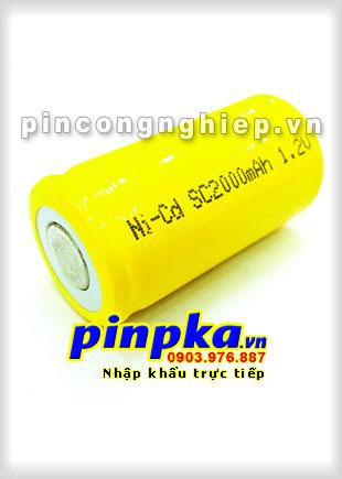 Pin Sạc Công Nghiệp-Pin Cell 1,2v NiCD SC 2000mAh